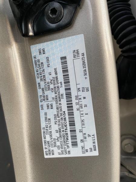 Ford Super Duty F-250 2018 price $69,890
