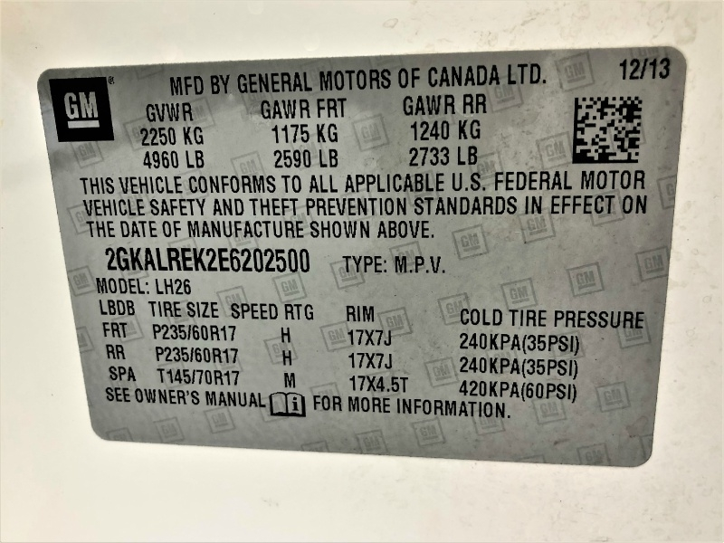 GMC Terrain 2014 price $10,995