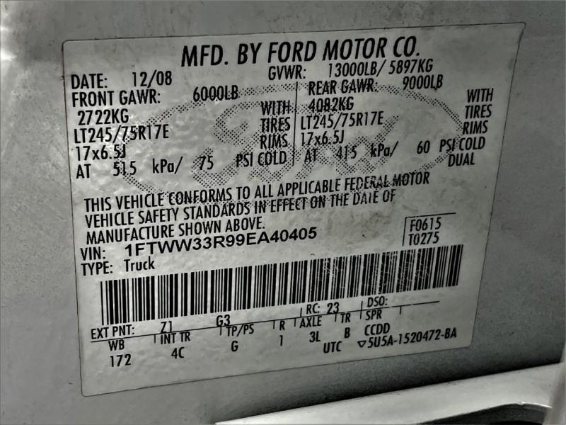 Ford Super Duty F-350 DRW 2009 price $28,795