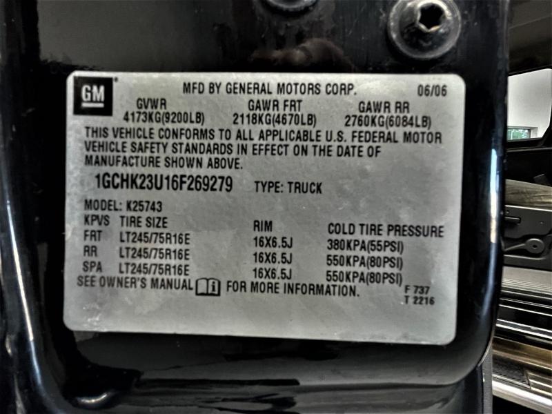 Chevrolet Silverado 2500HD 2006 price $20,995