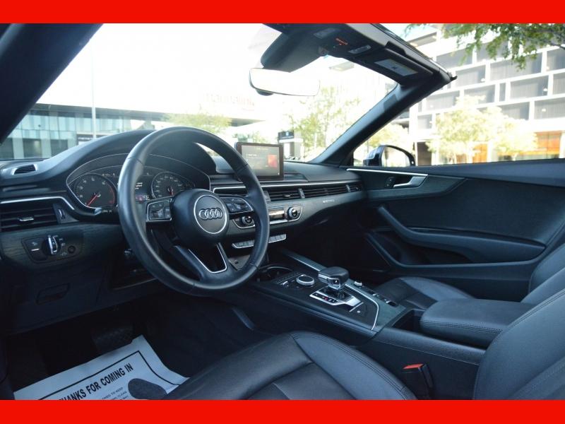 Audi A5 Cabriolet 2018 price $37,888