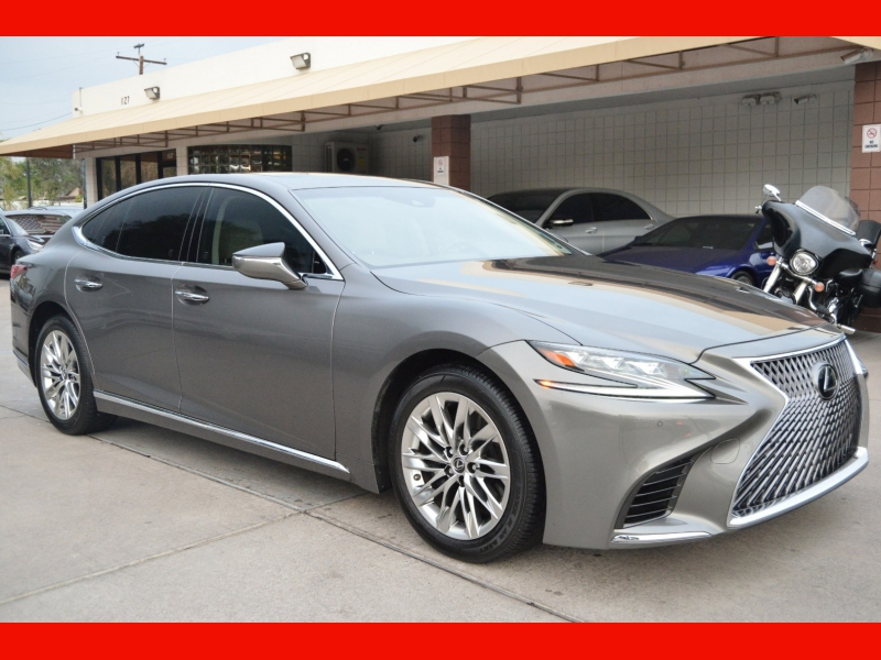 Lexus LS 2018 price $54,888