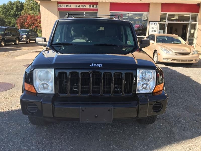 Jeep Commander 2007 price