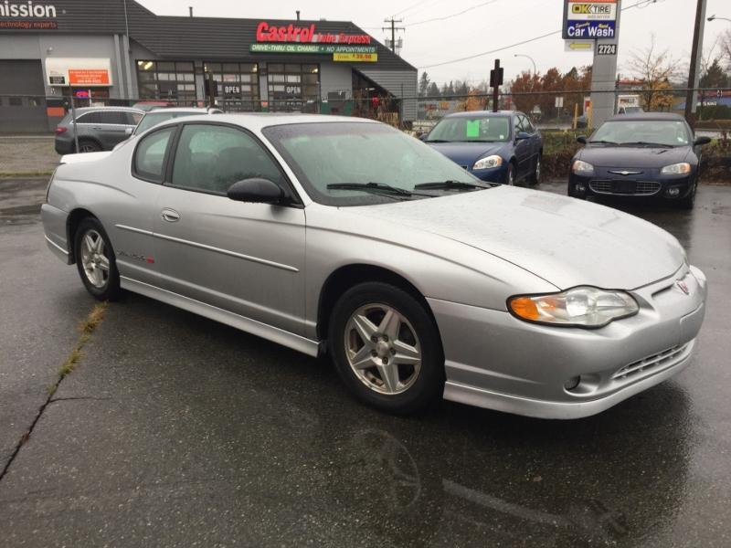 Chevrolet Monte Carlo 2001 price $1,795