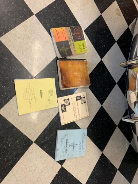 Lincoln Mark 1956 price $67,000