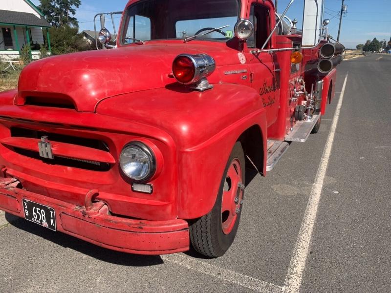 International fire truck 1956 price $9,500