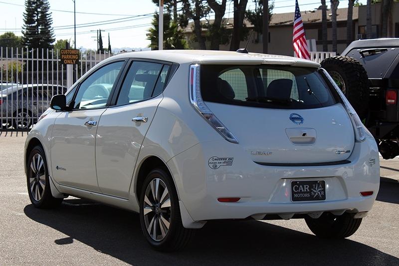 Nissan LEAF SL 2016 price $9,998