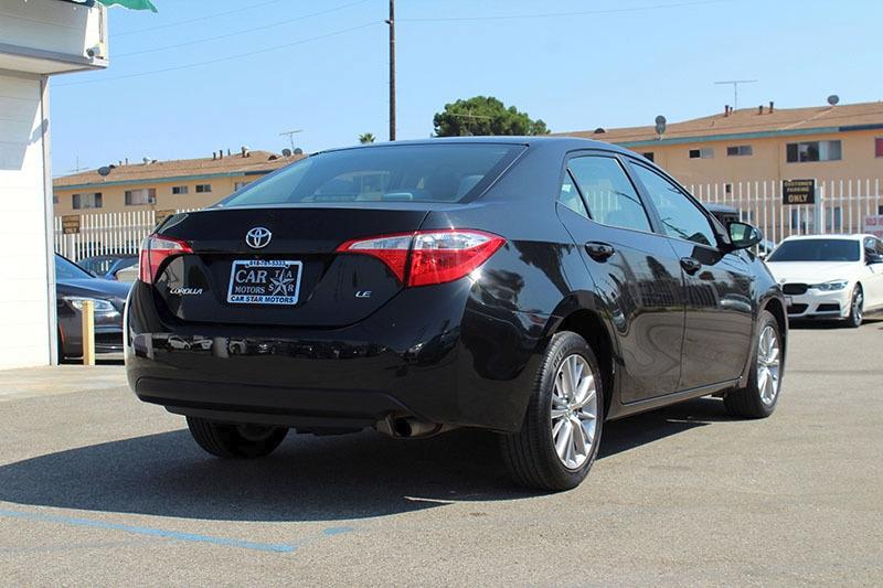 Toyota Corolla 2015 price $13,998