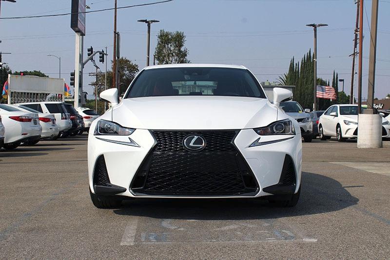 Lexus IS 2018 price $37,998