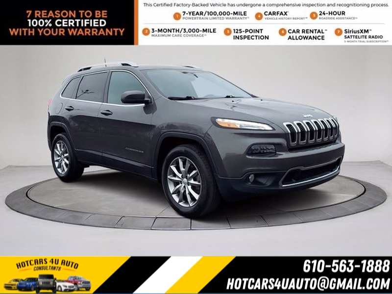 Jeep Cherokee 2018 price $26,900