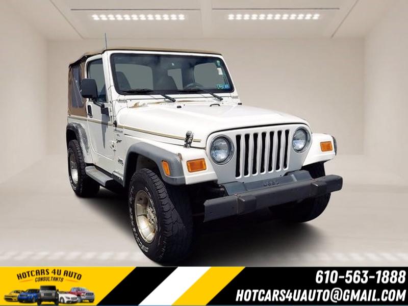 Jeep Wrangler 2001 price $13,595