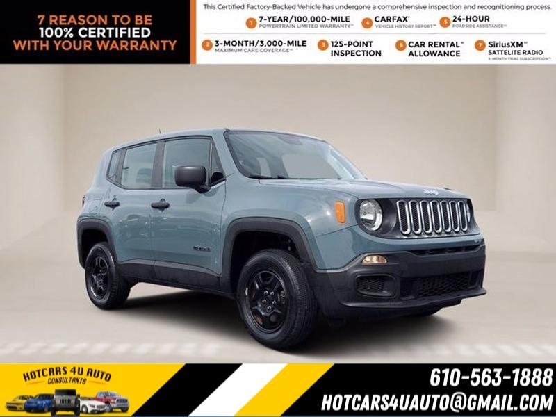 Jeep Renegade 2018 price $22,200