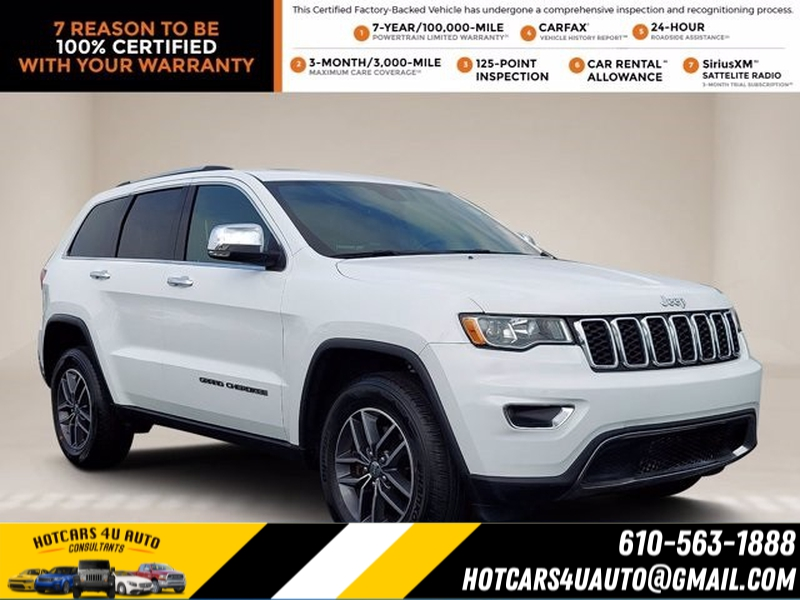 Jeep Grand Cherokee 2018 price $33,500