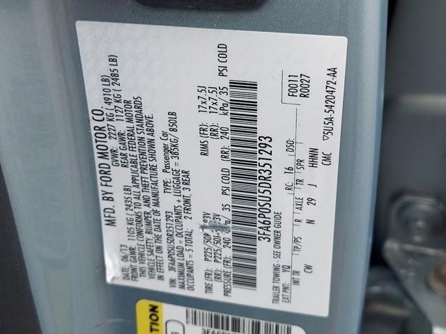Ford Fusion Energi 2013 price $14,300