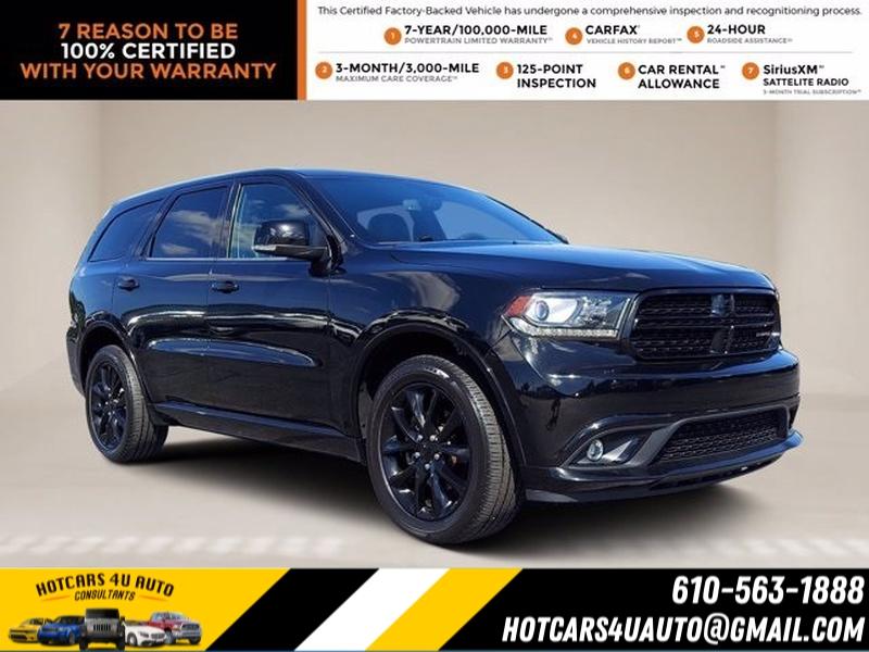 Dodge Durango 2018 price $39,500