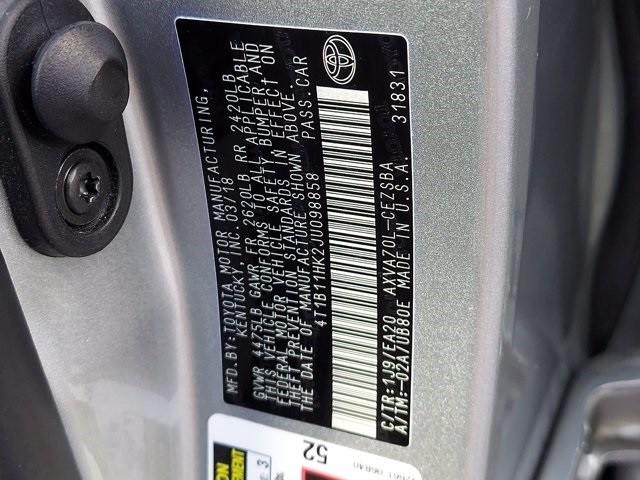 Toyota Camry 2018 price $25,900