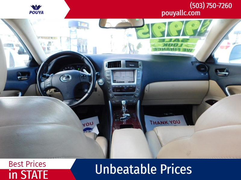 Lexus IS 250 2008 price $9,995