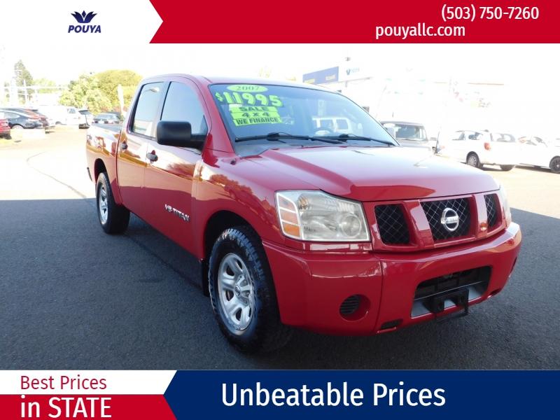 Nissan Titan 2007 price $10,300