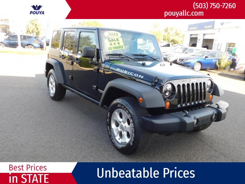 Jeep Wrangler Unlimited 2010 price $15,995