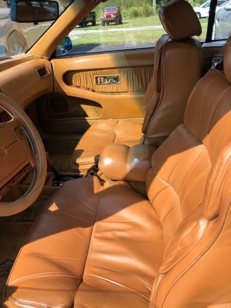CHRYSLER TC MASERATI 1991 price $4,995