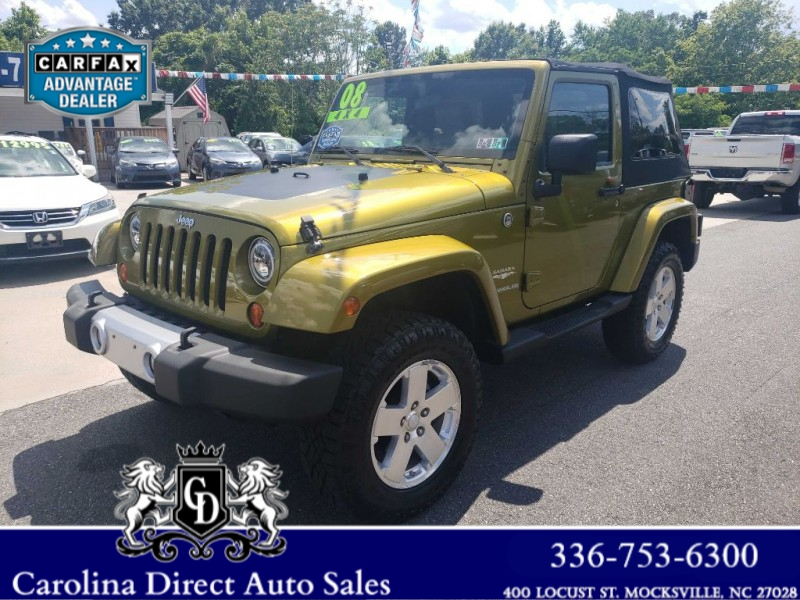 JEEP WRANGLER 2008 price $15,399