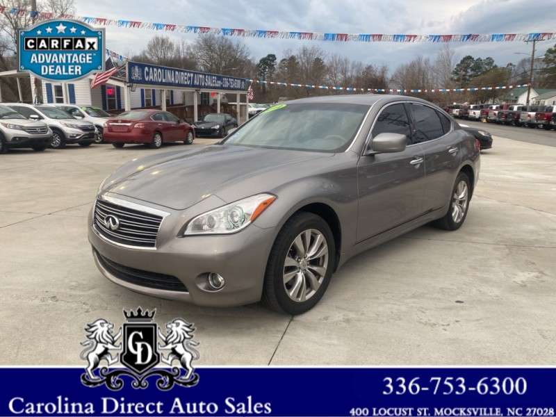 INFINITI M37 2012 price $12,675