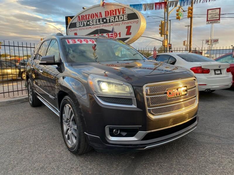 GMC Acadia 2013 price $12,999