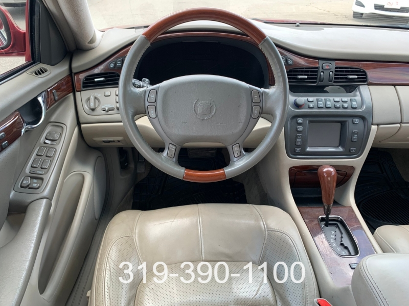 Cadillac DeVille DTS 2000 price $4,950