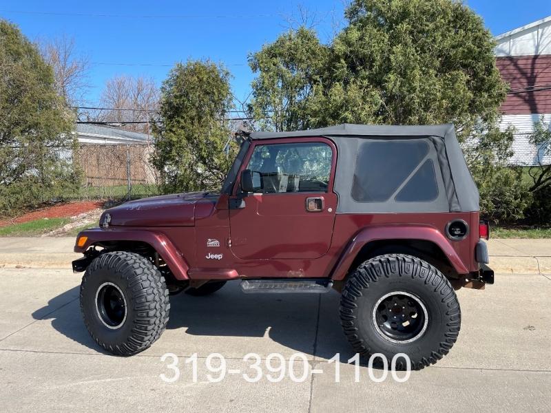 Jeep Wrangler 2003 price $8,950