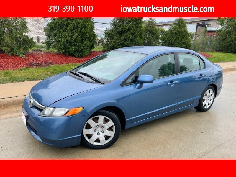 Honda Civic Sdn 2008 price $6,950