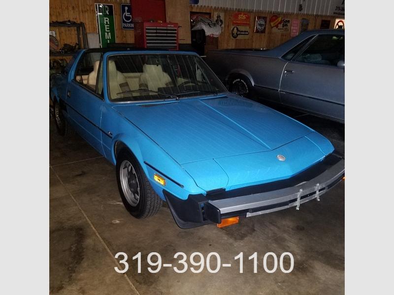 Fiat Bertone 1979 price $7,500