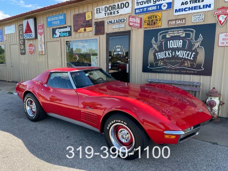 Chevrolet Corvette 1971 price $34,500