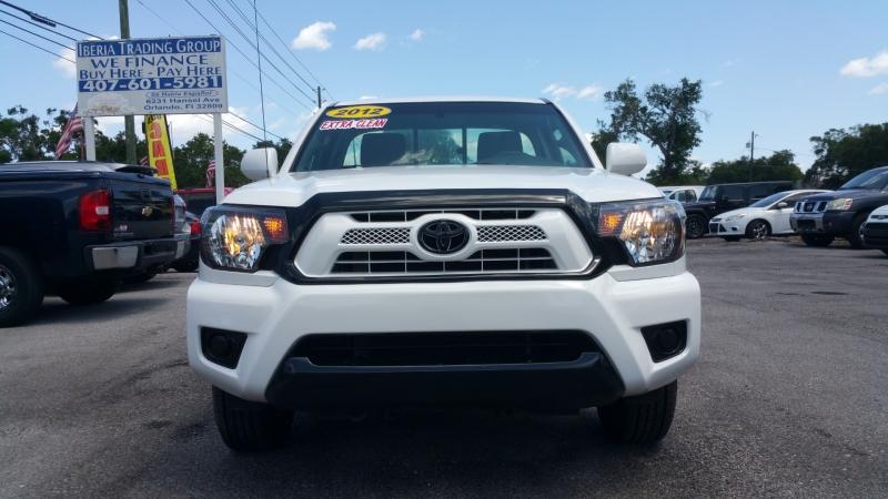 Toyota Tacoma 2012 price $15,500