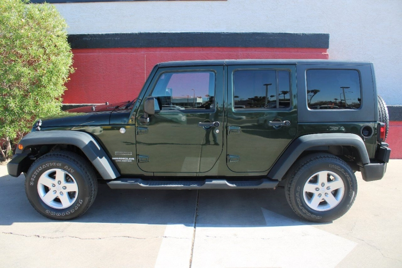 Jeep Wrangler Unlimited 2010 price $19,995