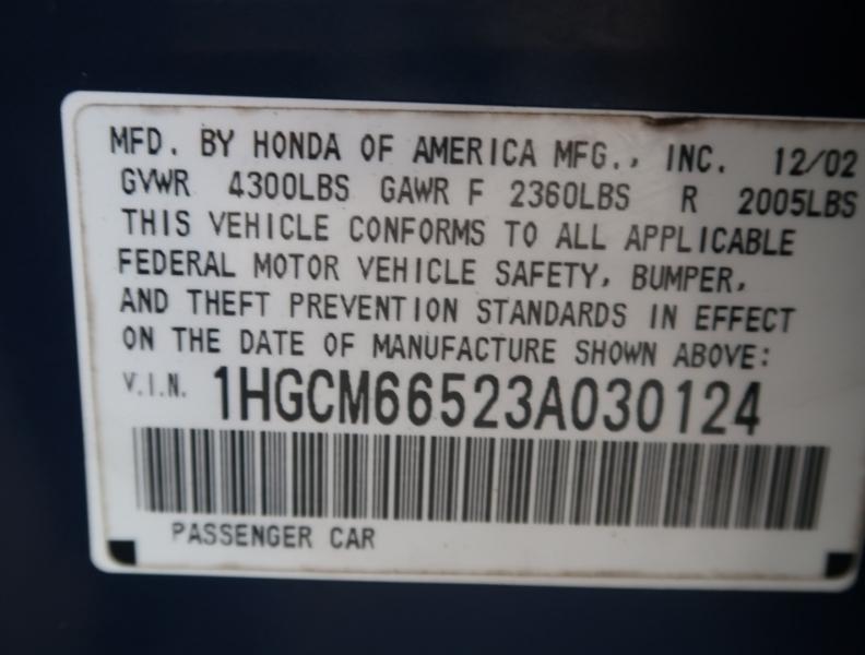 Honda Accord 2003 price $7,995