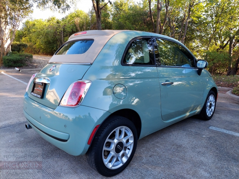 Fiat 500 ONE OWNER ! 2012 price $6,495 Cash