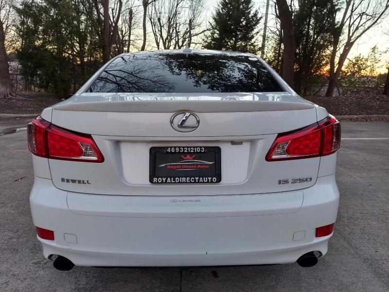 Lexus IS 250 ONE OWNER ! 2012 price $8,995 Cash