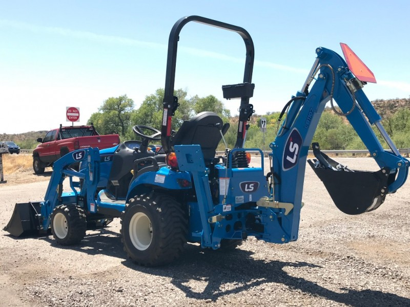 LS MT125 LOADER & BACKHOE 0000 price $18,350