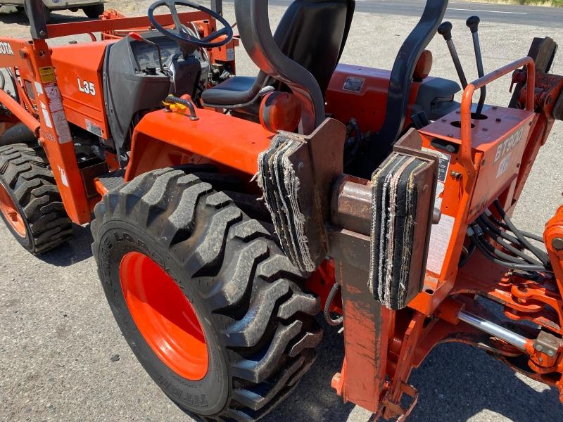 KUBOTA L35 W/BACKHOE 0000 price $19,900