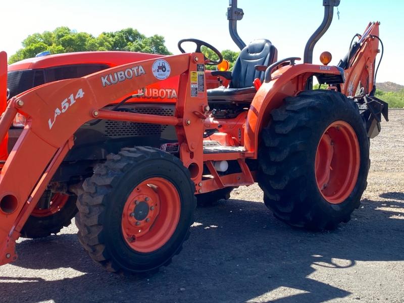 KUBOTA L3240DT W/ BACKHOE 0000 price $23,900