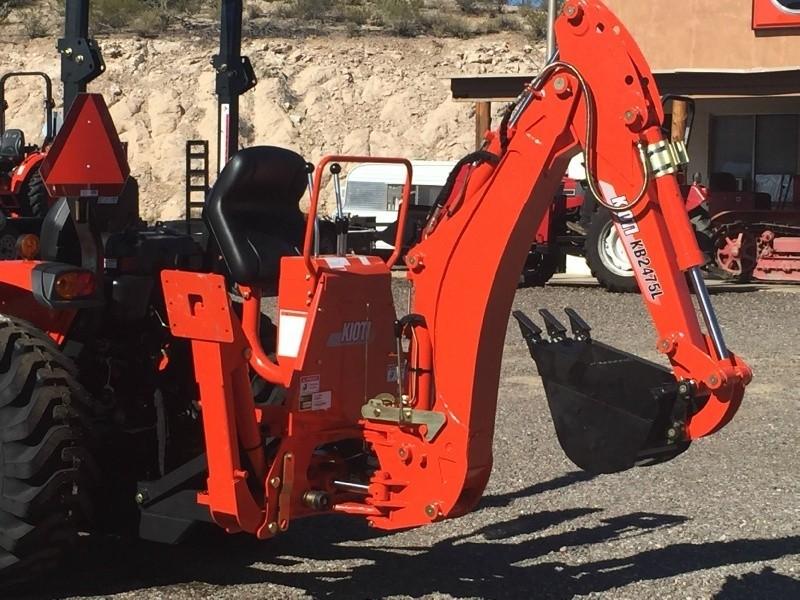 KIOTI CK 3510 W/ KIOTI LOADER & KIOTI BACKHOE 0000 price $31,500