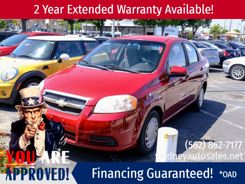 Chevrolet Aveo 2010 price $5,995
