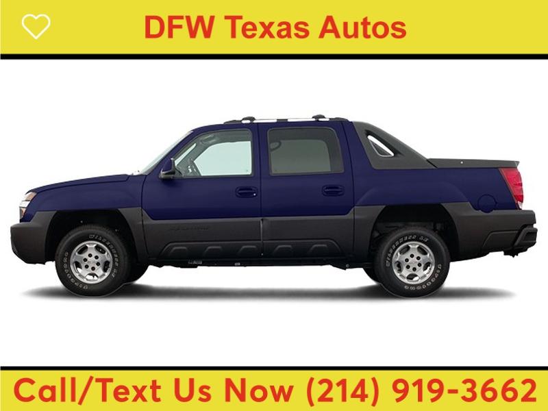 Chevrolet Avalanche 2004 price $9,991