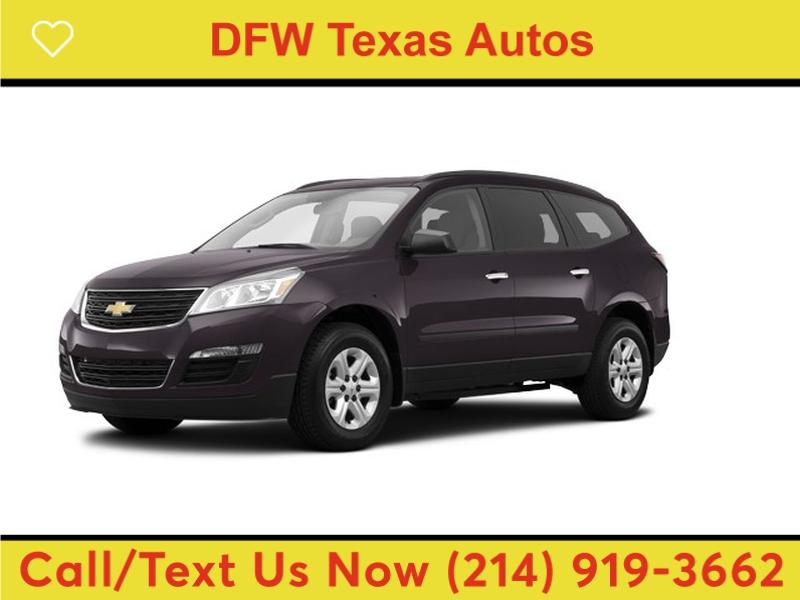 Chevrolet Traverse 2014 price $10,991