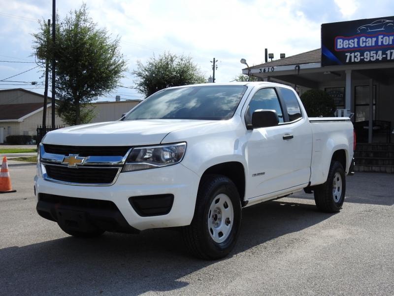 Chevrolet Colorado 2016 price $17,498