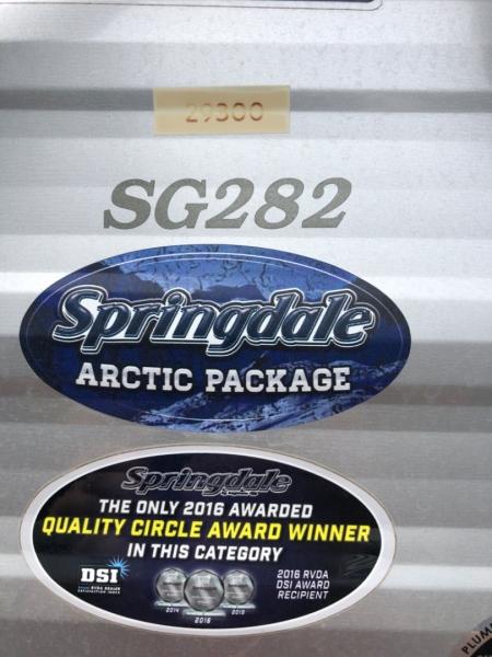 Keystone Springdale 2018 price $22,500