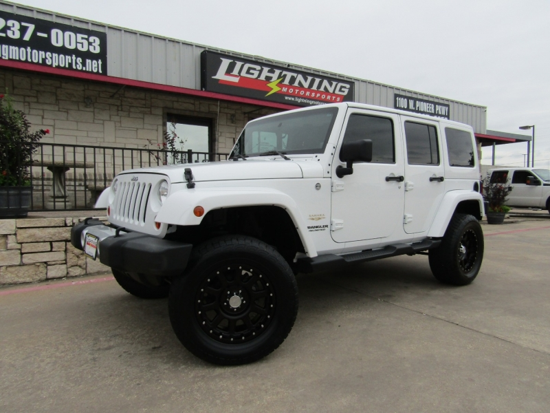 Jeep Wrangler Unlimited 2012 price $25,950