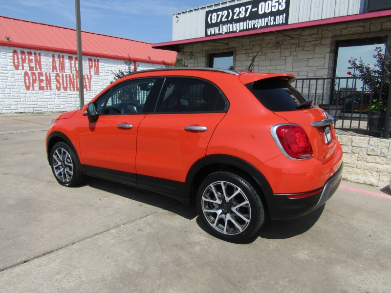 Fiat 500X 2017 price $12,850