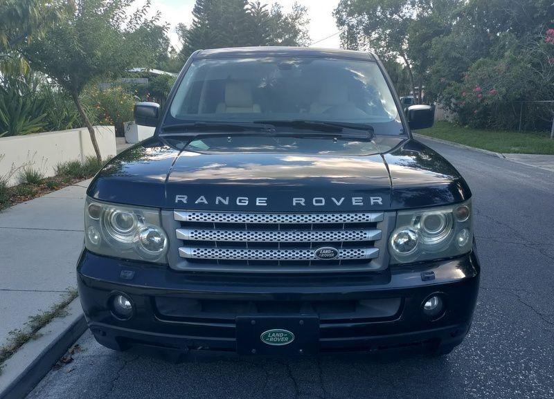 LAND ROVER RANGE ROVER SPO 2007 price $9,750