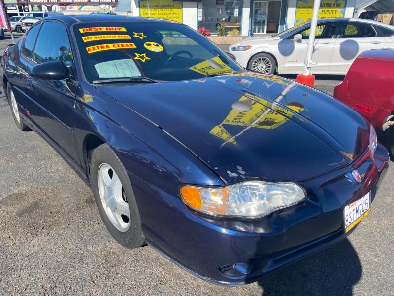 Chevrolet Monte Carlo 2001 price $5,995